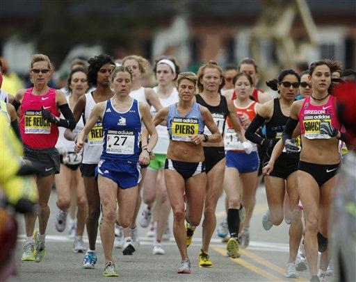 map of boston marathon course. 2011 oston marathon course.